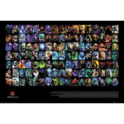 Dota 2 Characters Maxi Poster 61 x 91.5cm