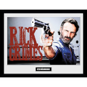 The Walking Dead Rick Grimes Framed Photograph 12 x 16 Inch
