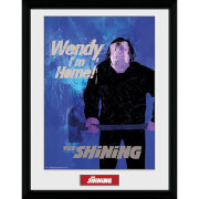 The Shining Wendy I'm Home Framed Photograph 12 x 16 Inch