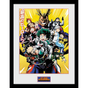 My Hero Academia Season 1 Framed Photograph 12 x 16 Inch