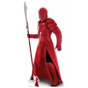 Silhouette Découpée en Carton - Garde Prétorienne Naginata - Star Wars : Les Derniers Jedi