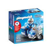 Playmobil City Action Police Bike with LED Light (6923)