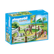Playmobil : Enclos avec chevaux (6931)