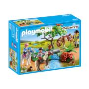 Playmobil : Cavaliers avec poneys et cheval (6947)