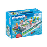 Playmobil Sports & Action Glass-Bottom Boat with Underwater Motor and Magnifying Glass (9233)