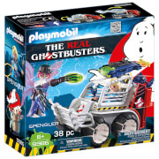 Playmobil Ghostbusters Spengler et voiturette (9386)