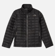 The North Face Boys' Thermoball Full Zip Jacket - TNF Black