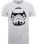 Star Wars Paint Spray Stormtrooper T-Shirt - Grau