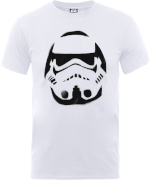 T-Shirt Homme Paint Spray Stormtrooper - Star Wars - Blanc