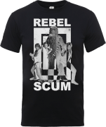 Star Wars Rebel Scum T-Shirt - Schwarz