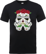 T-Shirt Homme Day of the Dead Stormtrooper - Star Wars - Noir
