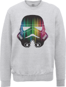 Sweat Homme Vertical Lights Stormtrooper - Star Wars - Gris