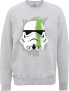 Sweat Homme Paintstroke Stormtrooper - Star Wars - Gris