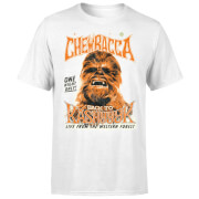 Camiseta Star Wars Chewbacca One Night Only - Hombre - Blanco