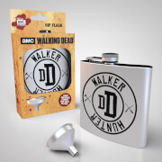 The Walking Dead Hunter Walker Hip Flask