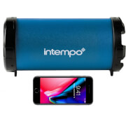 Enceinte Bluetooth Intempo - Grand - Bleu Marine