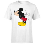 T-Shirt Homme Bisou Mickey Mouse (Disney) - Blanc