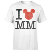 Mickey Mouse I Heart MM T-Shirt - Black