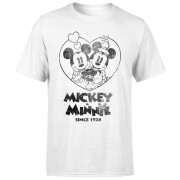 Disney Minnie Mickey Since 1928 T-Shirt - Weiß