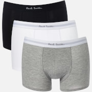 Paul Smith Accessories Men's Three Pack Trunk Boxer Shorts - Multi