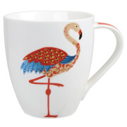 Couture Paradise Birds Flamingo Mug