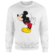 Disney Mickey Mouse Kiss Trui - Wit