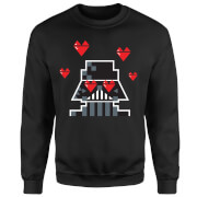 Star Wars Darth Vader In Love Trui - Zwart