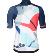 Santini Tour Down Under 20 Years Limited Edition Jersey 2018 - Blue/Pink
