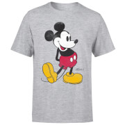 Disney Mickey Mouse Classic Kick T-Shirt - Grau