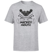 Disney Mickey Mouse Mirrored T-Shirt - Grey