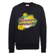 Marvel Avengers Hulk The Incredible Avenger Sweatshirt - Black