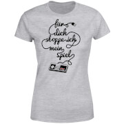 I'd Pause My Game For You (DE) Women's T-Shirt - Grey