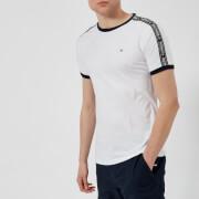Tommy Hilfiger Men's Tape Detail T-Shirt - White