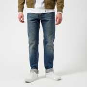 Edwin Men's ED-80 Slim Tapered Red Listed Selvedge Jeans - Satomi Wash