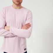 Edwin Men's Terry Long Sleeve T-Shirt - Pink