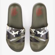 Sandales à Enfiler Ealing DFND - Kaki Camouflage