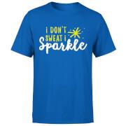 I Don't Sweat I Sparkle T-Shirt - Royal Blue