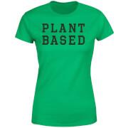 Plant Based Women's T-Shirt - Kelly Green