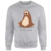 Life In The Slow Lane Sweatshirt - Grey