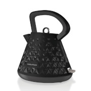 Morphy Richards Prism Pyramid Kettle - Black