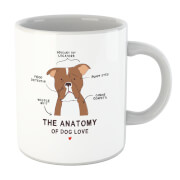 The Anatomy Of Dog Love Mug