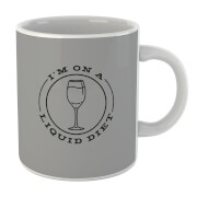 Liquid Diet Wine Mug