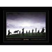 Lord of The Rings Fellowship Collector's 50 x 70cm Framed Photograph