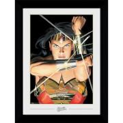 DC Comics Wonder Woman Ross Collector 50 x 70cm Framed Photograph