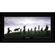 Lord of The Rings Fellowship Collector's 50 x 100cm Framed Photograph