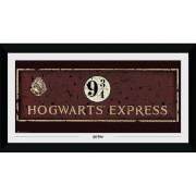 Harry Potter Hogwarts Express Collector's 50 x 100cm Framed Photograph