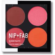 Paleta de coloretes Blushed Brights 02 de NIP + FAB - 15,2 g