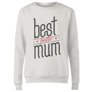 Best Foster Mum Women's Sweatshirt - White