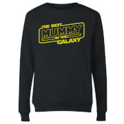 Best Mummy In The Galaxy Women's Sweatshirt - Black