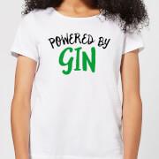 Powered By Gin Women's T-Shirt - White